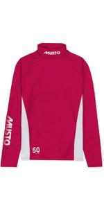 2019 Musto Youth Championship LS Rash Vest Magenta SKTS006