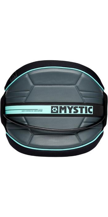 2021 Mystic Arch Waist Harness 190111 - Black / Mint