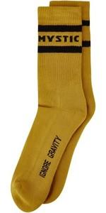 2021 Mystic Brand Socks 35108.210253 - Mustard