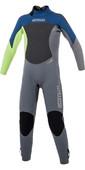 2021 Mystic Kids Star 3/2mm Back Zip Wetsuit 180061 - Navy