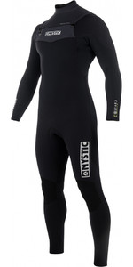 2019 Mystic Star 5/4mm Double Front Zip Wetsuit BLACK 180016