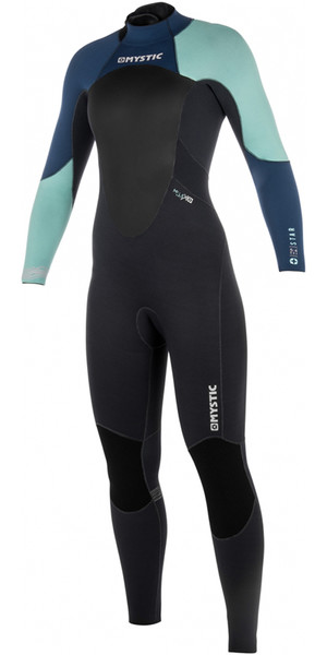 2018 Mystic Women Star 5/4mm Back Zip Wetsuit NAVY 180029