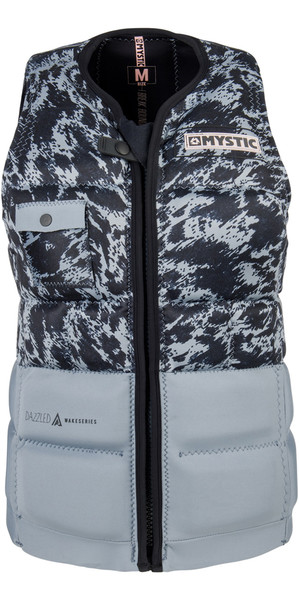 2018 Mystic Womens Dazzled Impact Vest GREY 180154