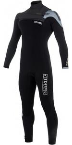 2018 Mystic Majestic Chest Zip Wetsuit 5/3mm BLACK / GREY 180002