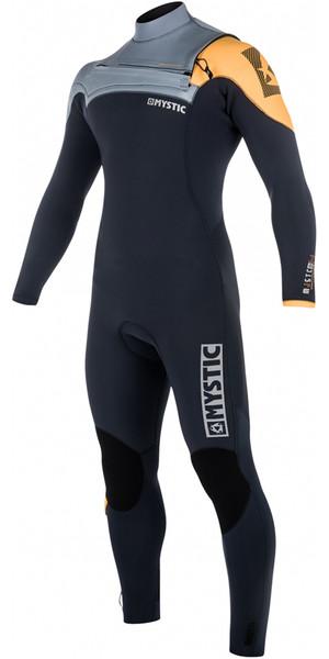 2018 Mystic Majestic Chest Zip Wetsuit 4/3mm ORANGE 180003