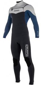 2019 Mystic Star 5/4mm Double Front Zip Wetsuit NAVY 180016