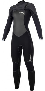 2019 Mystic Gem Womens 5/3mm Chest Zip Wetsuit BLACK 180021
