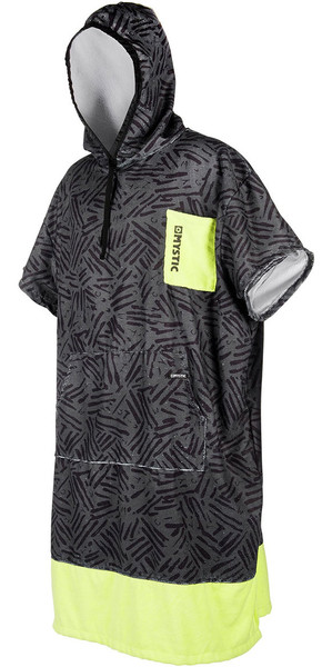 2018 Mystic Allover Poncho Lime 180032