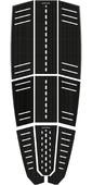 2021 Mystic Ambush Kiteboard Full Deckpad Classic Shape Black 190149