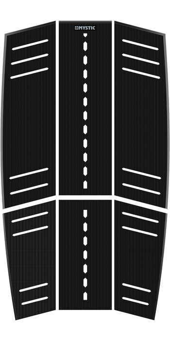 2019 Mystic Ambush Kiteboard Full Deckpad Stubby Shape Black 190153