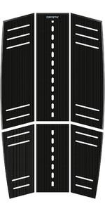 2019 Mystic Ambush Kiteboard Mid + Front Deckpad Classic Shape Black 190153