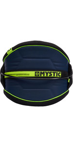 2021 Mystic Arch Flexshell Waist Harness Navy / Lime 190111