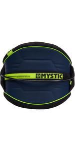 2019 Mystic Arch Flexshell Waist Harness Navy / Lime 190111