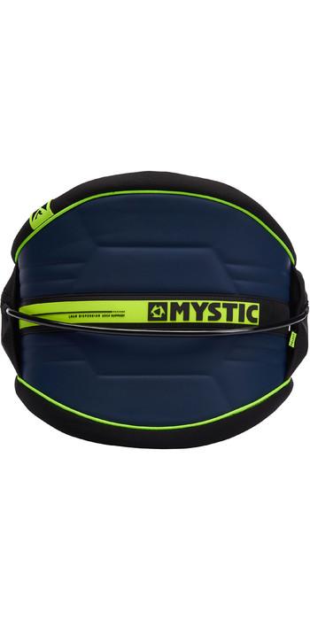 2021 Mystic Arch Flexshell Waist Harness Navy / Lime 190111