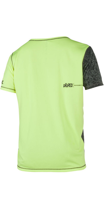 Mystic Drip Loosefit Quick Dry Short Sleeve Rash Tee Lime 180102
