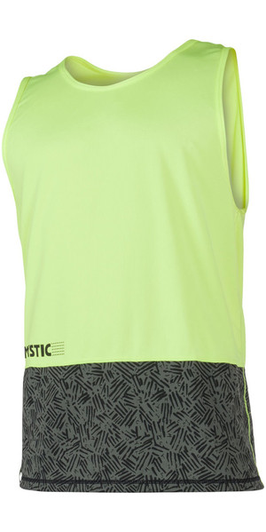 2018 Mystic Drip Loosefit Quick Dry Tank Top Lime 180103