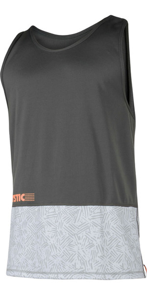2018 Mystic Drip Loosefit Quick Dry Tank Top Orange / Grey 180103