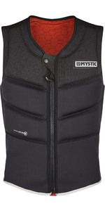 2020 Mystic Foil Front Zip Kite Impact Vest KFO - Black