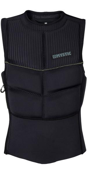 2018 Mystic Foil Zip Free Kite Impact Vest Black / Grey 180087