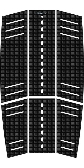 2021 Mystic Guard Kiteboard Mid + Front Deckpad Black 190183