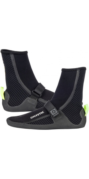 2018 Mystic Gust 3mm Split Toe Boots BLACK 180039