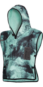 2020 Mystic Kids Poncho / Change Robe 200132 - Black / Mint