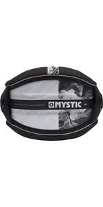 2019 Mystic Len10 Majestic X Kite Waist Harness Black / White 190107