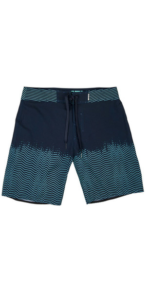 2018 Mystic Lightning Boardshorts Night Blue 180078