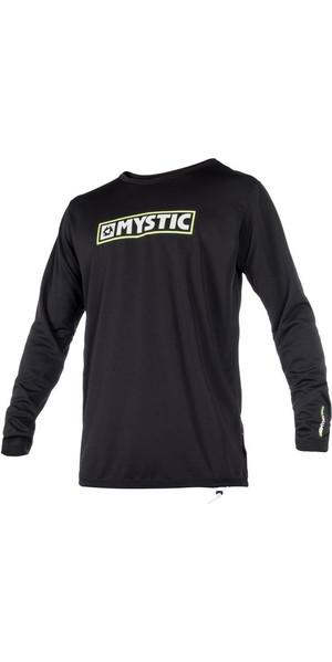 2018 Mystic MVMNT L / S Quickdry Loose fit SUP Top Black 180174