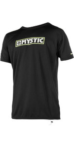 Mystic MVMNT Short Sleeve Loose Fit Quickdry SUP Tee Black 180173