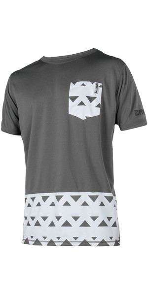 2018 Mystic Magician S / S Quickdry Loose Fit Tee Grey 180139