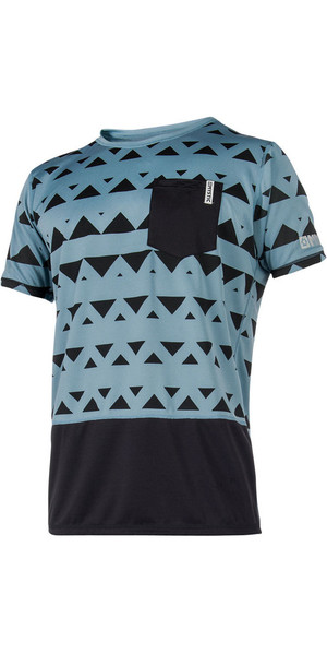 2018 Mystic Magician S / S Quickdry Loose Fit Tee Pewter 180139