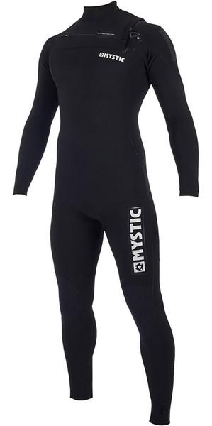 2019 Mystic Majestic 3/2mm Chest Zip Wetsuit Black