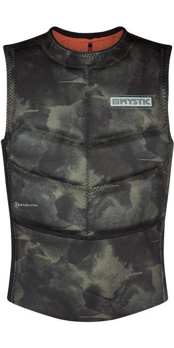 2021 Mystic Majestic Kite Impact Vest 200106 - Brave Green