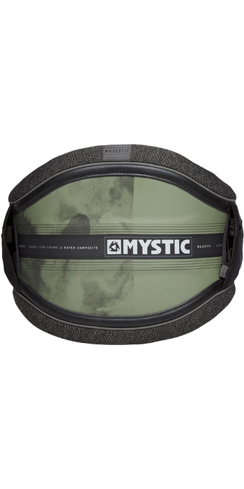 2021 Mystic Majestic Kite Waist Harness 190109 - Brave Green