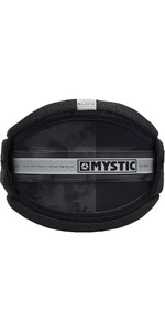 2019 Mystic Majestic Kite Waist Harness Black / White 190109