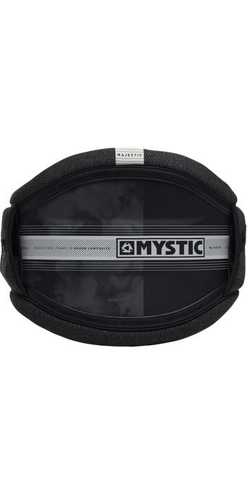 2021 Mystic Majestic Kite Waist Harness Black / White 190109