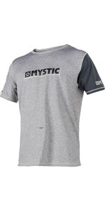 Mystic Majestic S / S Loosefit Rash Vest Grey 180109