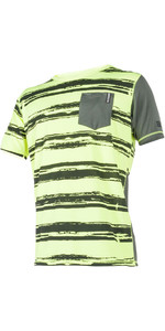 Mystic Majestic S / S Quickdry Rash Tee Lime 180101
