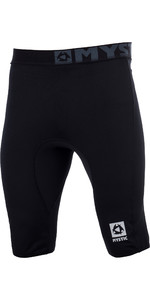 2021 Mystic Mens Bipoly Thermo Shorts BLACK 140075