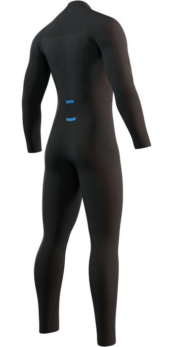 2021 Mystic Mens Brand 3/2mm Back Zip Wetsuit 210312 - Black