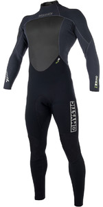 2019 Mystic Mens Brand 3/2mm Back Zip Wetsuit Black 180051