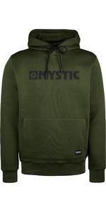 2019 Mystic Mens Brand Hooded Sweat 190035 - Moss