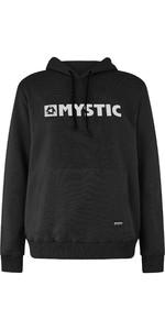 2019 Mystic Mens Brand Hooded Sweat Caviar 190035