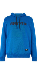 2019 Mystic Mens Brand Hooded Sweat Flash Blue 190035