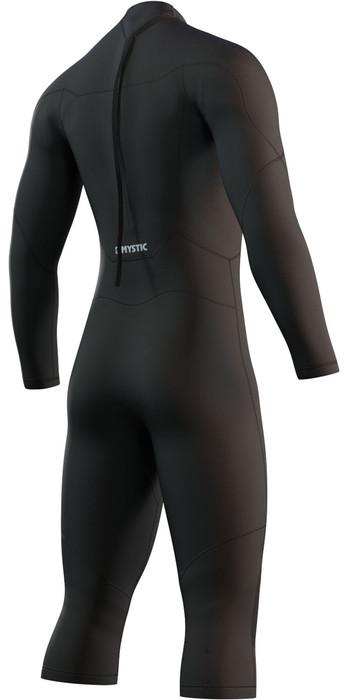 2021 Mystic Mens Brand 3/2mm Long Sleeve Short Leg Wetsuit 210313 - Black