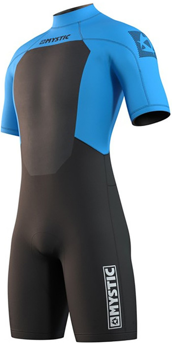 2021 Mystic Mens Brand 3/2mm Shorty Wetsuit 210316 - Global Blue