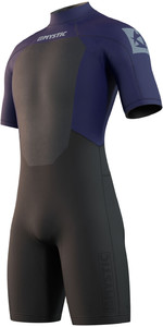 2021 Mystic Mens Brand 3/2mm Shorty Wetsuit 210316 - Night Blue