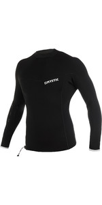 2021 Mystic Mens Majestic 2mm Long Sleeve Wetsuit Top 210139 - Black / White