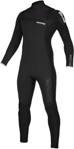 2019 Mystic Mens Majestic 5/3mm Chest Zip Wetsuit 20002 - Black
